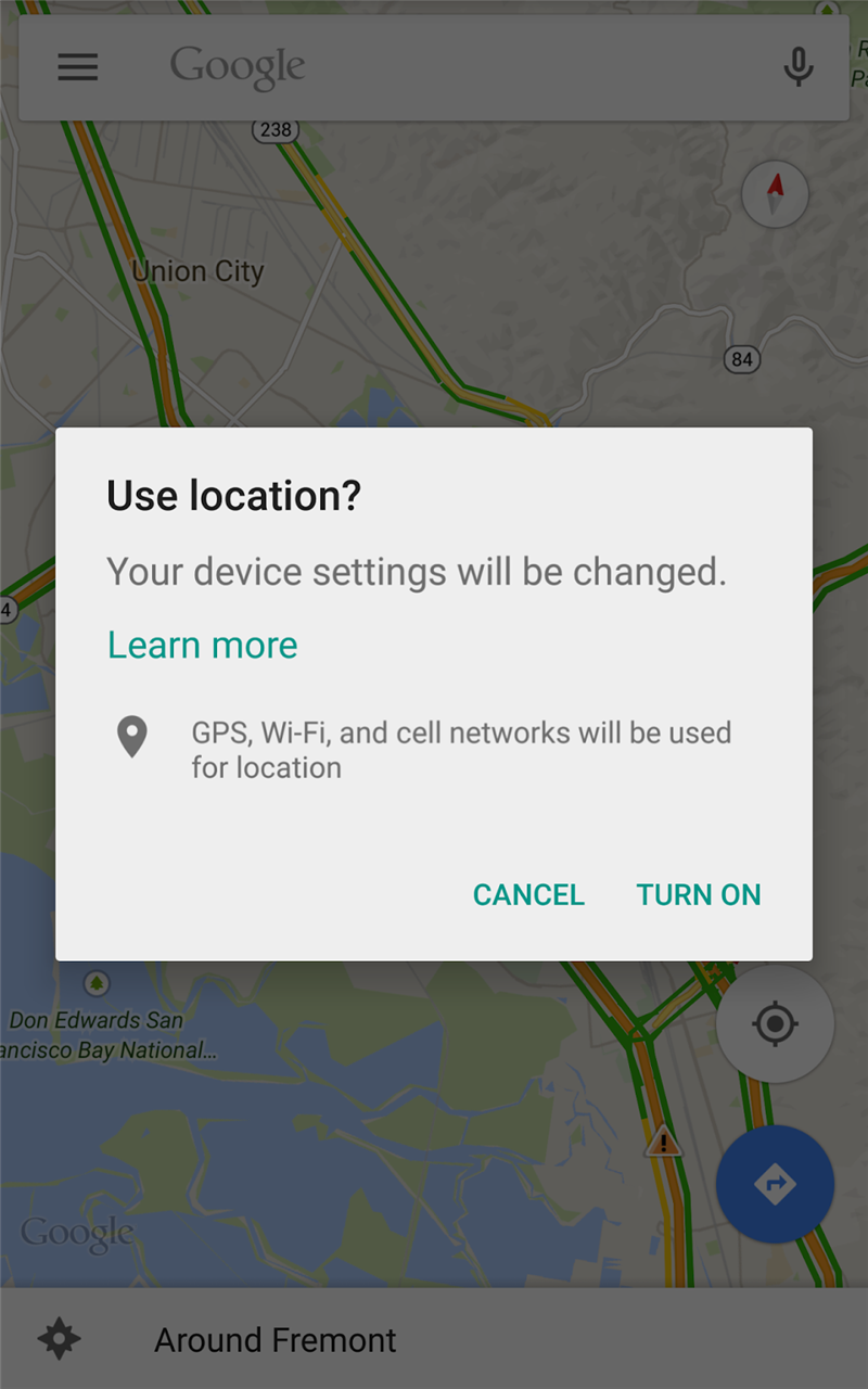 Google Play Services 7.0 Android Geolocalisation