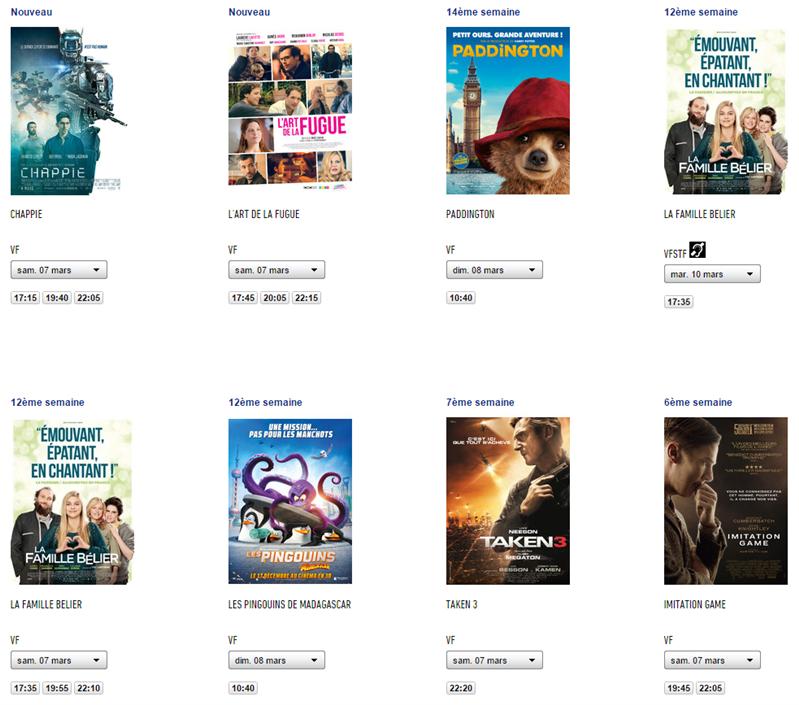 Cinéma Citizenfour UGC Films proposés