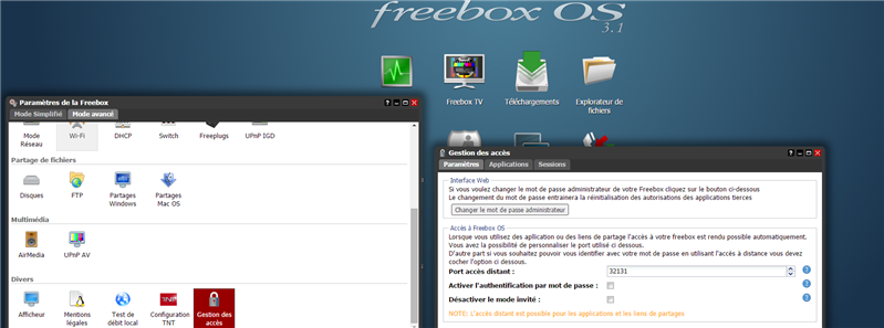 Freebox OS 3.1