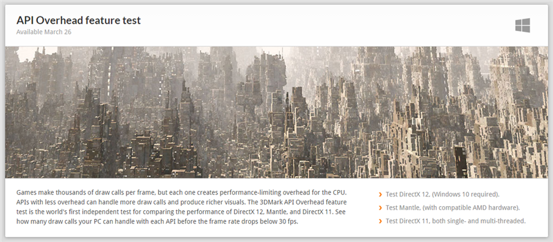 3DMark DirectX 12