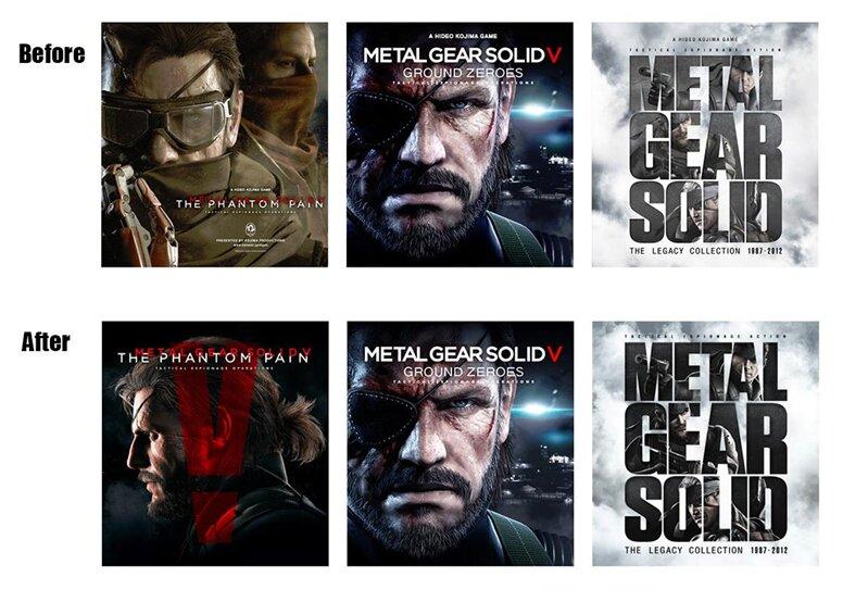 Kojima Jaquettes Metal Gear MGS