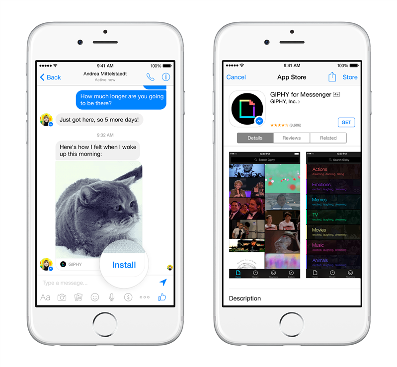 Messenger App Install