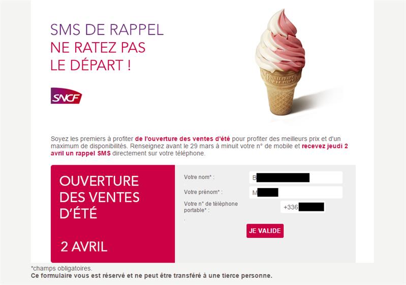 SNCF fuite données