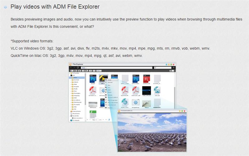 ADM 2.4 Asustor