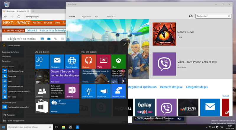 Windows 10 10074