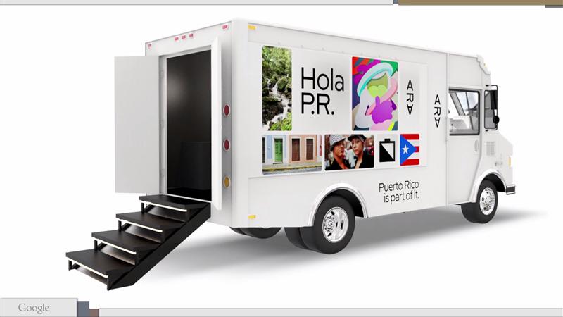 Projet Ara Camion Puerto Rico