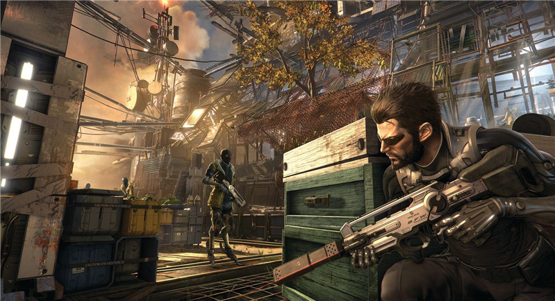Deux Ex Mankind Divided,