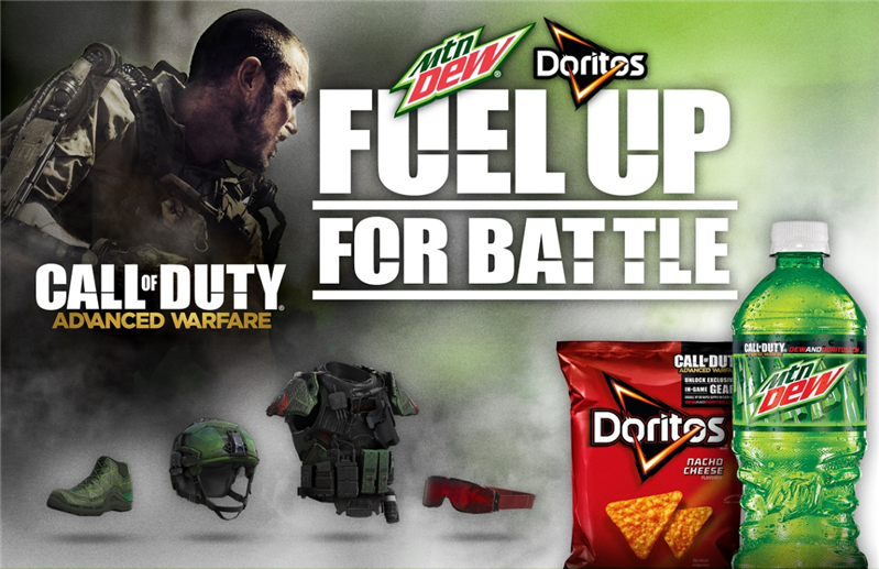 Doritos Mountain Dew Call of Duty