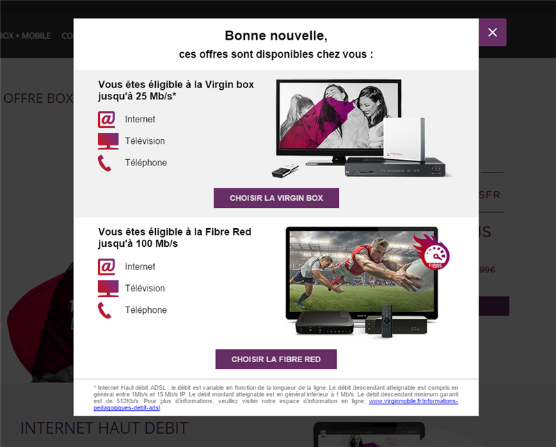 Virgin Mobile RED Fibre