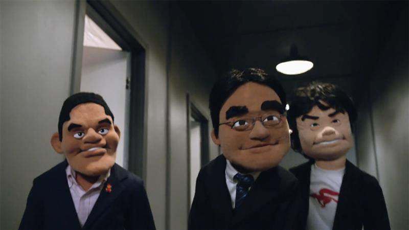 Nintendo E3 marionettes