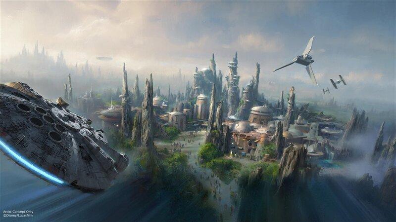 Star Wars parc