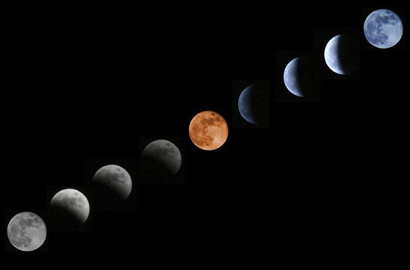 Super Lune Eclipse