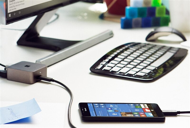 Windows 10 Mobile Continuum