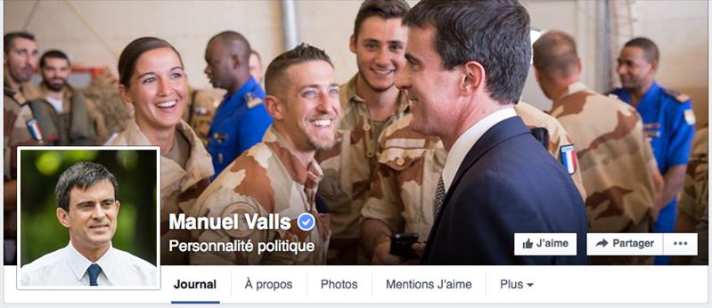 valls facebook