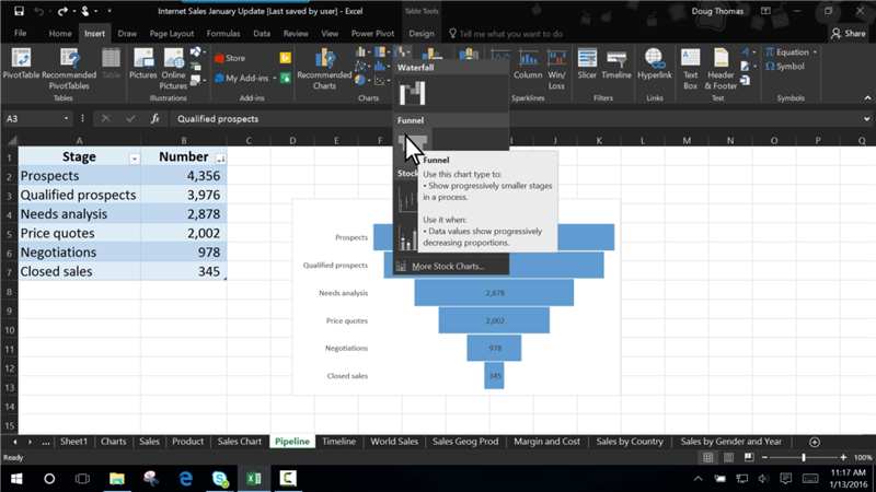 office 2016 noir excel
