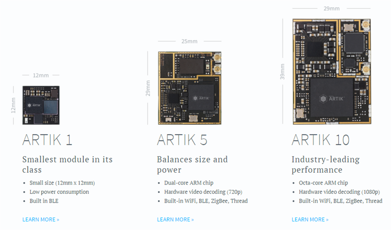 Samsung plateforme IoT ARTIK