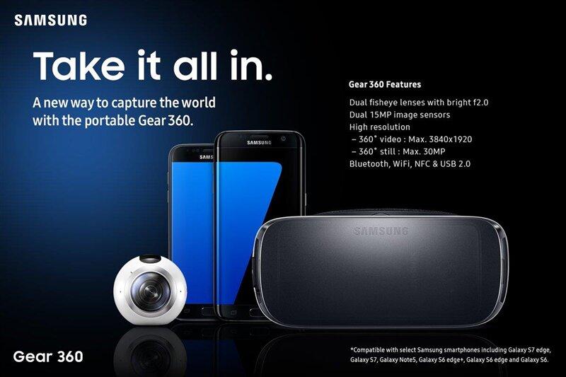 Gear 360 Samsung MWC