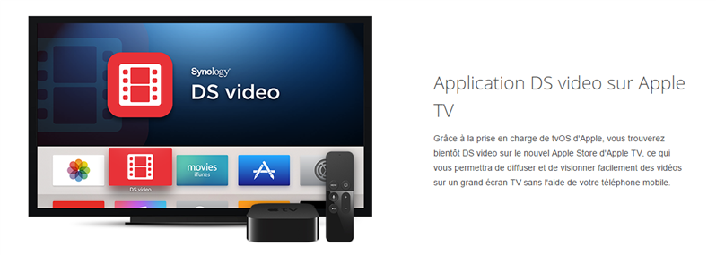 Apple TV DS Video Synology
