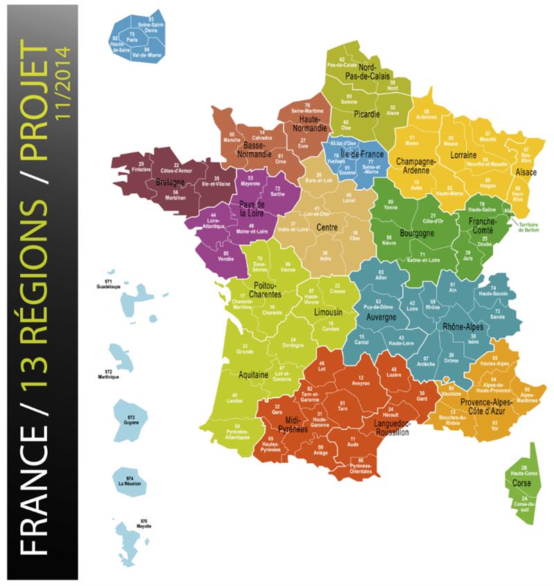 Nouvelle région France