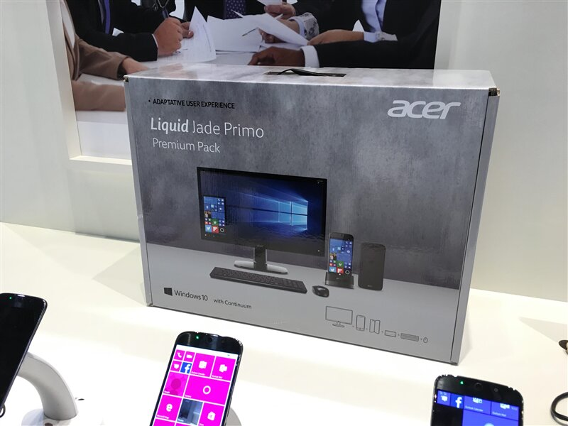 MWC 2016 Acer Pack PC Jade