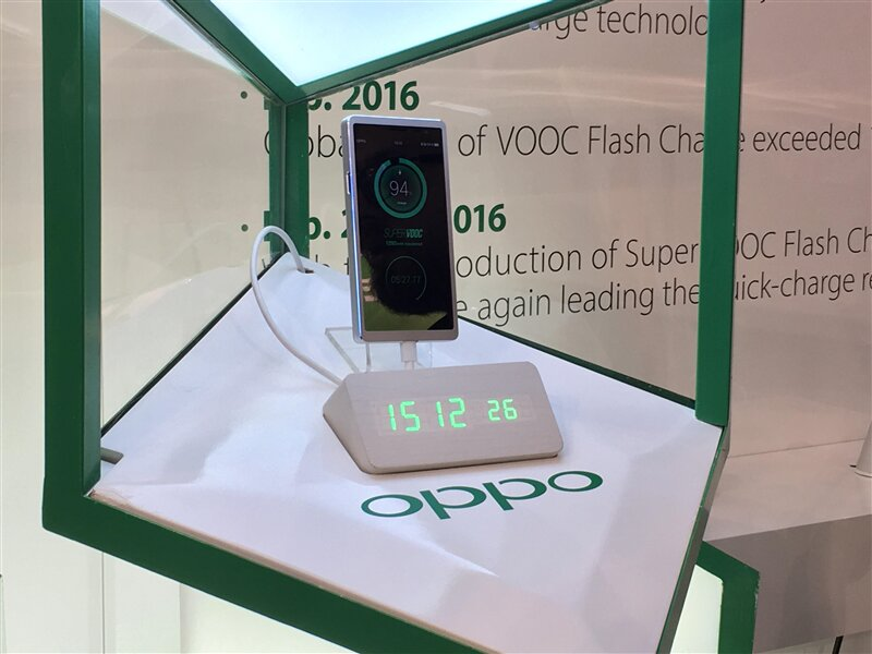 MWC 2016 Oppo Charging