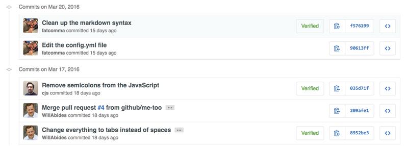 GitHub GPG