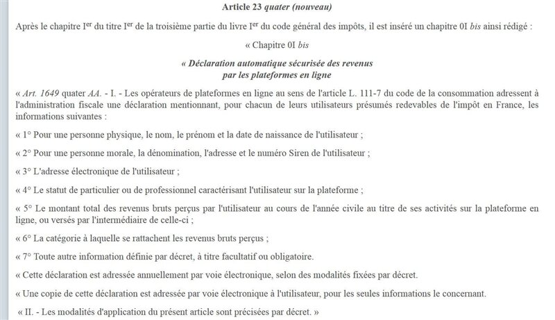 fisc plateforme