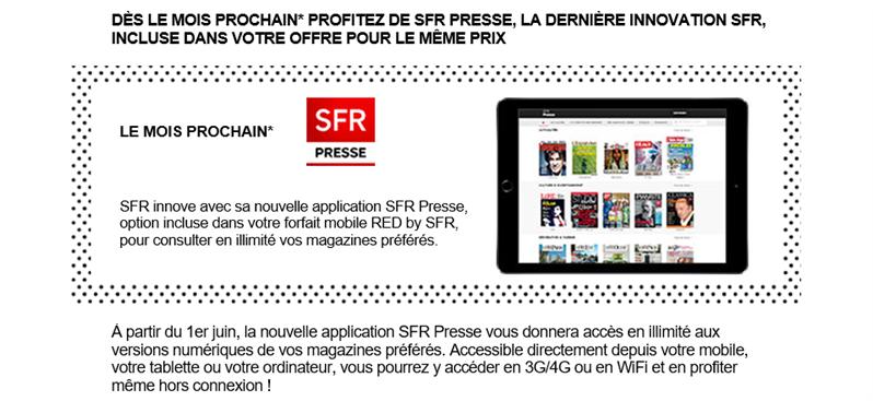 SFR Presse RED