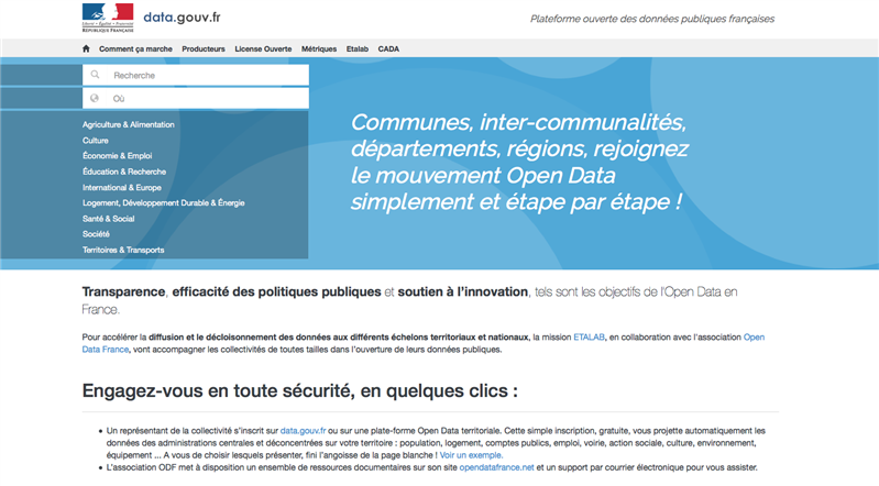 territoire data gouv.fr