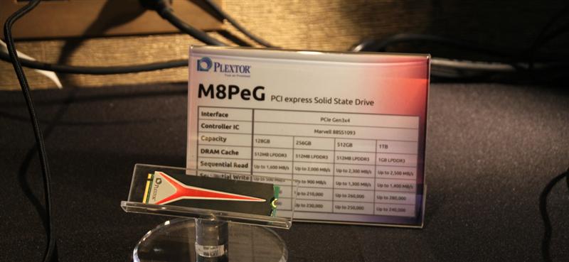 SSD Plextor M8PeG