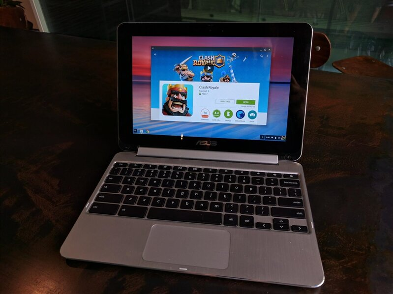 flip chromebook asus chrome os android