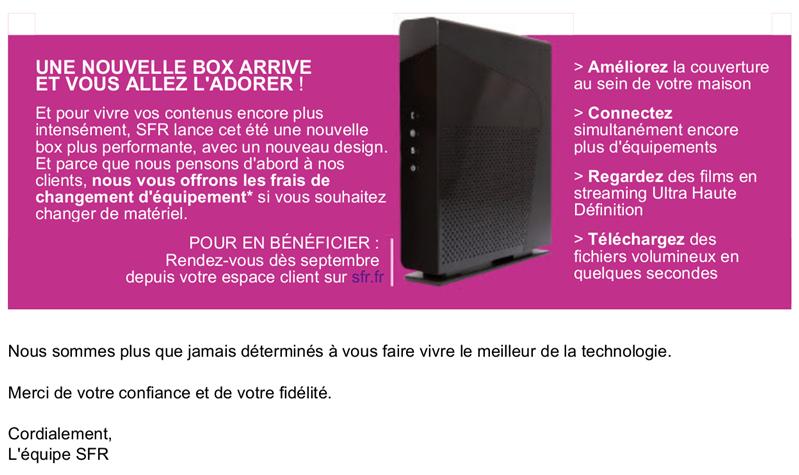 SFR Hausse Box
