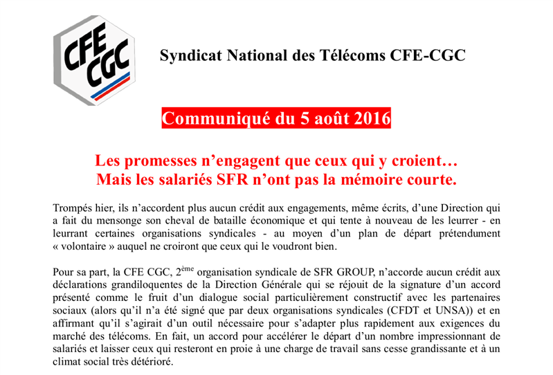 New Deal CFE CGC