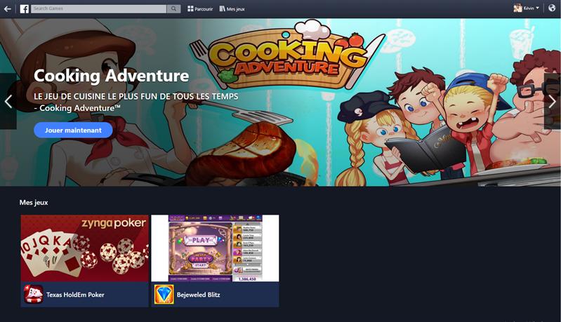 Facebook Games Arcade