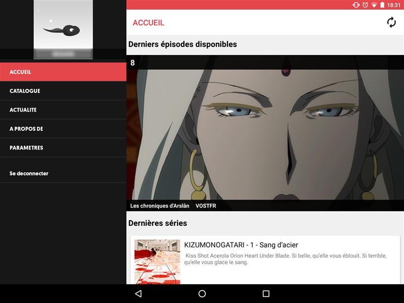 Wakanim Android