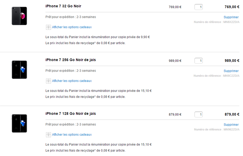 iPhone Copie Privée