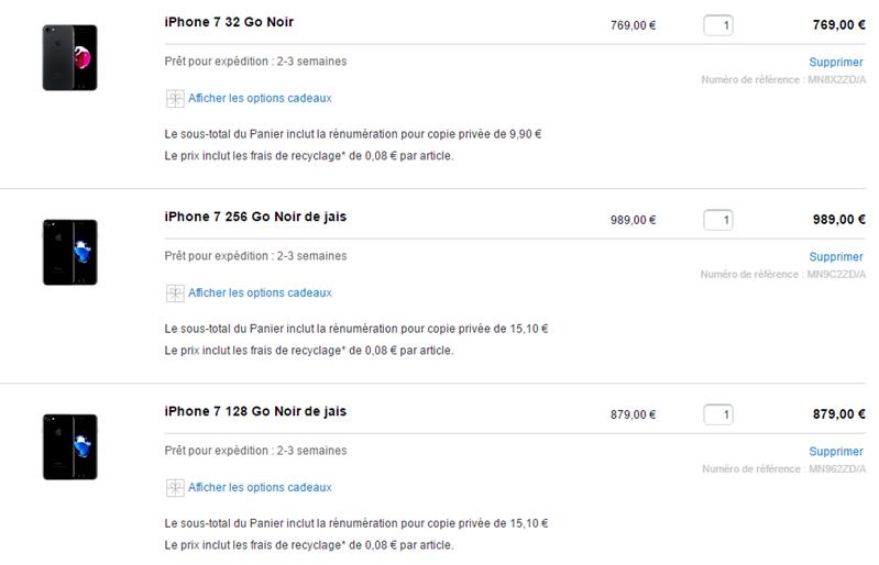 iPhone Copie Privée