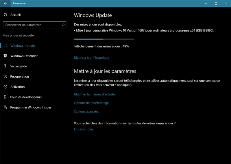 windows 10 update 10586.589