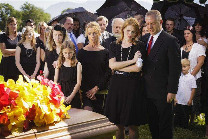 Famille funérailles