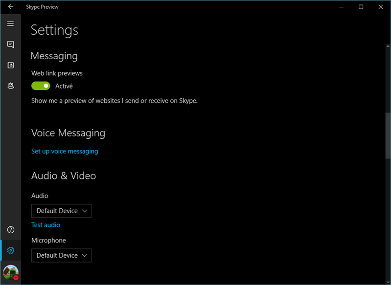 skype preview