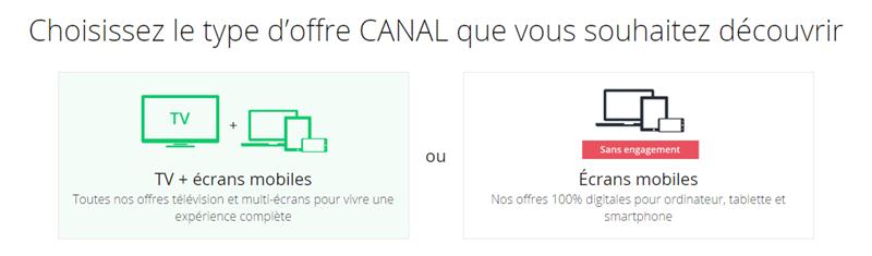Canal Nouvelles offres Tarifs