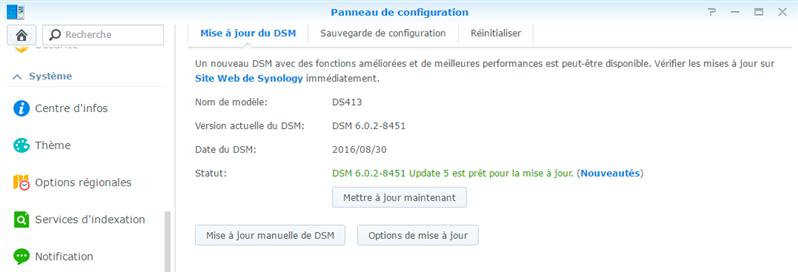 Synology DSM 6.0.2