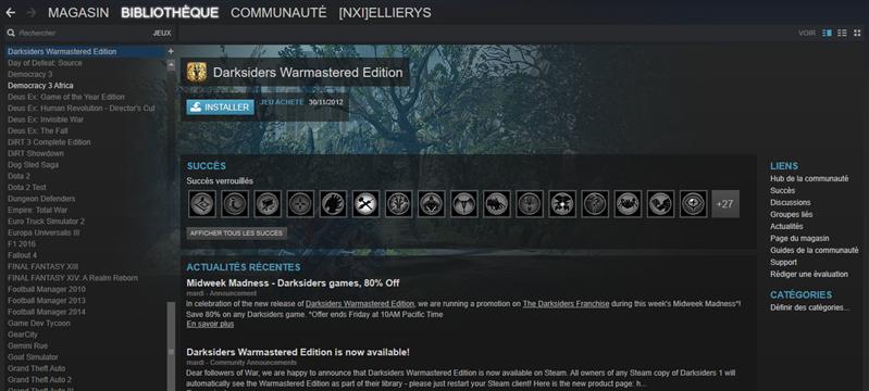 Darksiders Remake Steam