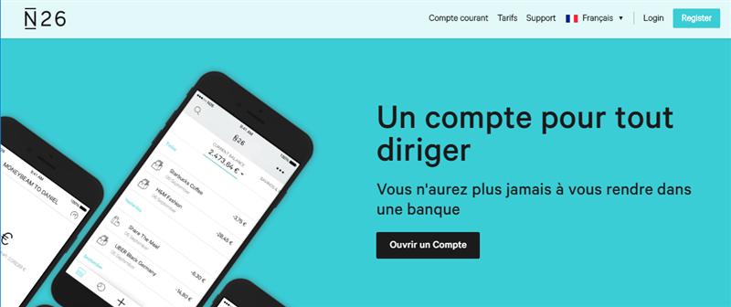N26 Site français