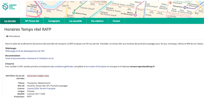ratp open data api