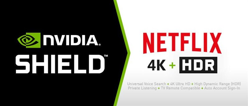 Shield Android TV HDR Netflix