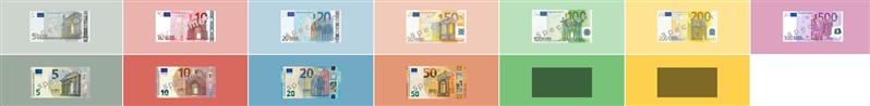 Nouveaux billets Europe BCE