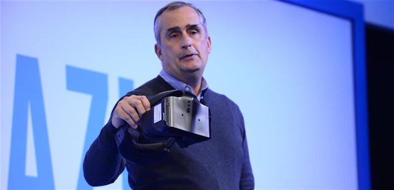 Intel Brian Krzanich VR