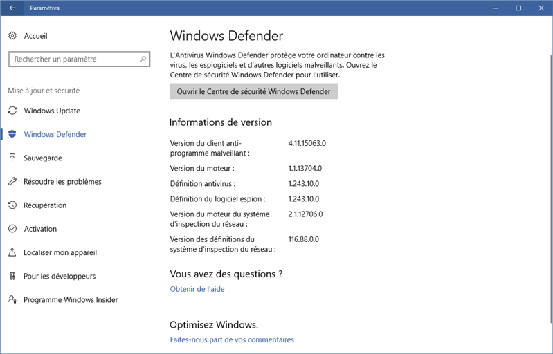 windows defender faille