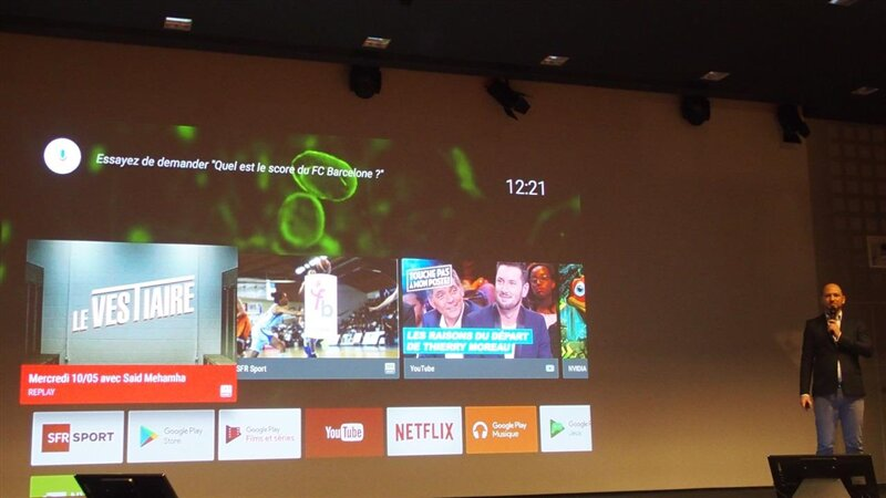 SFR Sport Android TV